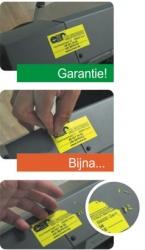 Anti Fraude etiketten