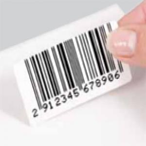 Barcode etiketten logo