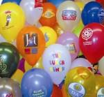 Bedrukte ballon logo