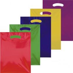 Bedrukte plastic draagtassen