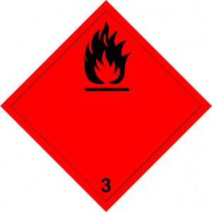 Klasse 3: vloeistoffen logo