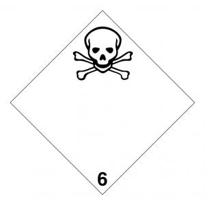 Klasse 6: giftig en infectueus logo