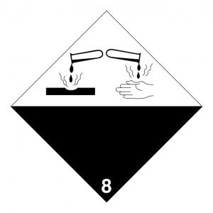 Klasse 8: bijtend logo