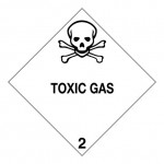 2.3 Giftige gassen met tekst (Toxic gas) logo