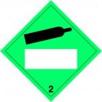 2.2 Samengeperste gassen met wit UN-vlak logo