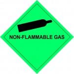 2.2 Samengeperste gassen met tekst (Non-flammable gas) logo