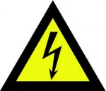 Waarschuwing stickers logo
