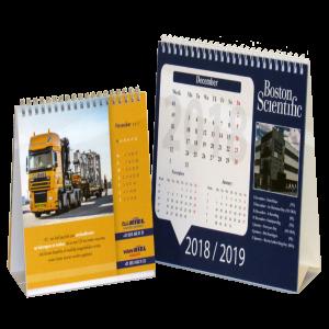 Bureaukalender 1 maand logo