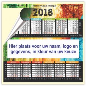 Zelfklevende kalender logo