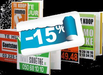 vouwborden zeefdruk -15%
