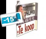 vouwborden full color -15% logo
