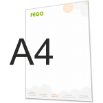 Briefpapier A4 logo