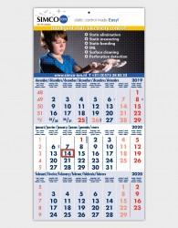 Muurkalender Budget 3 maanden