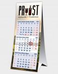 Bureaukalender 3 maanden logo