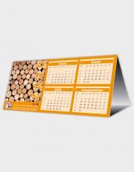 3-hoeks desk kalender