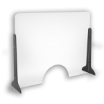 Veiligheidsscherm Plexiglas logo