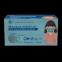 Beschermingsmasker voor kinderen